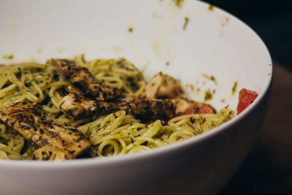 Pesto Pasta w Chicken-4